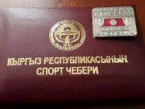 Шесть спортсменов получили звание «Мастера спорта Кыргызстана»