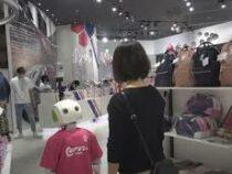 В одном из магазинов Японии работает необычный робот