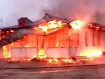 В Баткенской области на месте сгоревшей школы построят новую