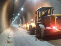В тоннеле имени Кольбаева отремонтировано освещение