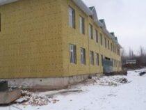 В Ала-Буке строится новый корпус к школе имени Чангылова