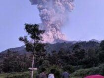 В Индонезии началось извержение самого активного вулкана Мерапи
