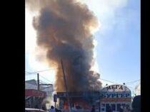 В Караколе в точке фастфуда прогремел взрыв