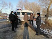 В Панфиловском районе начали работать передвижные пункты милиции