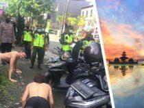 На Бали нарушителей масочного режима заставляют отжиматься