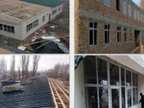 В селе Маданият Ошской области строится новая школа