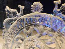 В Мурманске открылась выставка ледяных скульптур