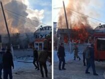 Взрыв в Караколе. Милиция проводит расследование