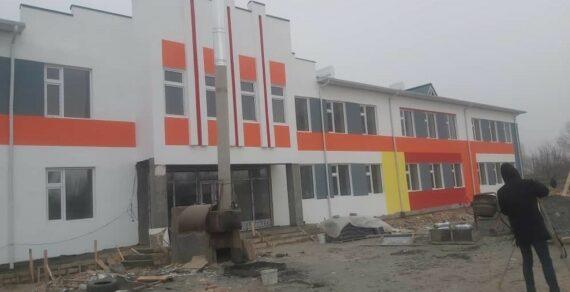 В Баткене строится школа на 375 мест
