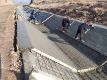 Четыре крупных ирригационных канала строятся в Баткенской области