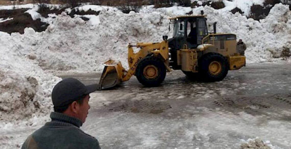 На дороге Бишкек— Ош  сошли четыре лавины