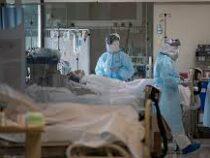 Ковидная свадьба: в Мадриде пациенты с коронавирусом обвенчались в больнице