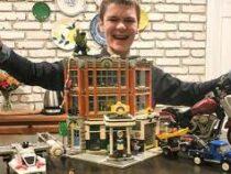 Школьник стал рекордсменом, собрав Лего из тысяч деталей