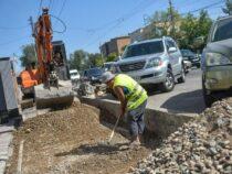 Улицу Койбагарова в Бишкеке планируется отремонтировать в этом году