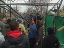 В результате взрыва в селе Аламудун пострадали два человека