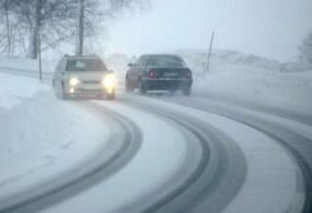 Бишкекских водителей призвали к осторожности на дорогах из-за гололедицы