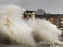 Сильный шторм пронесся над Бельгией