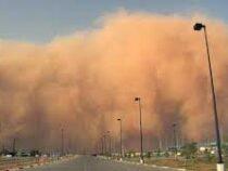 Песчаная буря накрыла страны Персидского залива