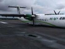 В Бразилии самолёт смог приземлиться без шасси