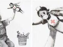 Картина Бэнкси, посвященная врачам, ушла с молотка за рекордные 23 млн долларов