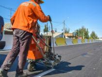 В Бишкеке продолжается ремонт улиц