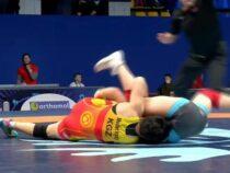 Кыргызстанские борцы выиграли 13 медалей на международном турнире в Киеве