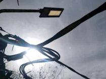 В Бишкеке продолжают освещать улицы