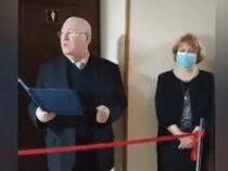 В университете в Киеве торжественно открыли женский туалет