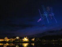В Великом Новгороде ко Дню космонавтики устроили впечатляющее шоу