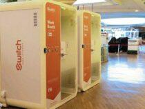 В Сингапуре созданы кабинки для удаленной работы
