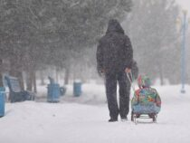 До половины месячной нормы осадков может выпасть в Бишкеке сегодня
