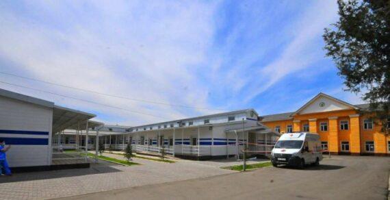 В Оше сдали в эксплуатацию здание детской инфекционной больницы