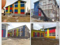 Строительство школы №42 в селе Маданият продолжается