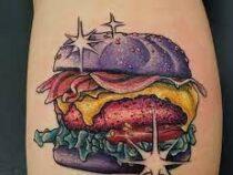 Особенная татуировка поможет целый год бесплатно есть гамбургеры