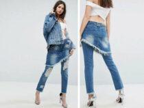 Модницам теперь не нужно выбирать между юбкой и джинсами