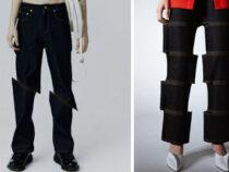 Надев новые джинсы, покупатели получат «разрезанные» ноги