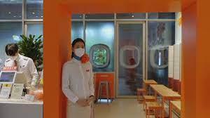Необычный ресторан помогает жителям Сеула окунуться в атмосферу полёта