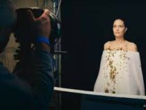 Анджелина Джоли приняла участие вфотосессии сроем пчел
