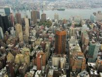 В Нью-Йорке открылся искусственный остров на сваях