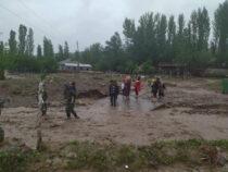 В Кара-Кульджинском районе Ошской области сошли сели