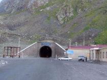 Проезд через тоннель на перевале Тоо-Ашуу ограничат.
