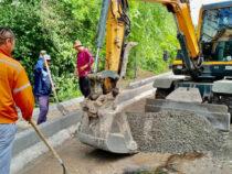 В Бишкеке продолжается капитальный ремонт улиц