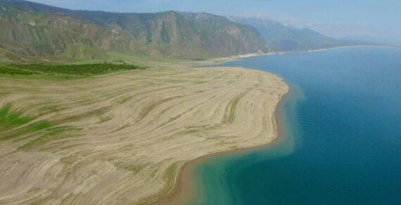 Картина с наполняемостью Токтогульского водохранилища начинает меняться