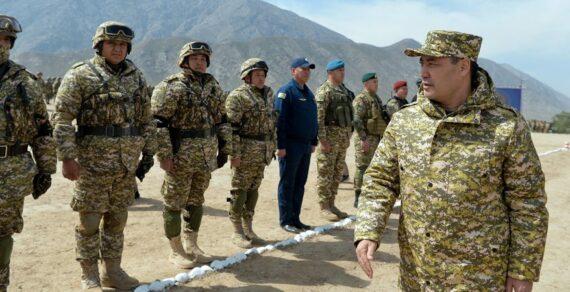 Садыр Жапаров с рабочей поездкой прибыл в Баткенскую область