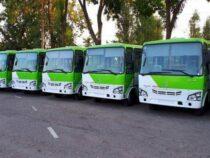 В Бишкек прибыли 50 автобусов из Узбекистана