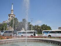 Встолице продолжают курсировать бесплатные автобусы