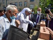В Бишкеке начали строить новый корпус Городской клинической больницы №6
