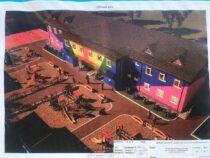 ВТонском районе начали строить детский сад за43миллиона сомов