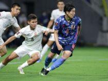 Сборная Кыргызстана по футболу проиграла команде Японии со счетом 5:1