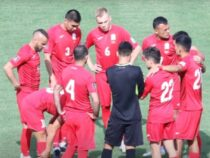 Сборная Кыргызстана по футболу проиграла команде Монголии